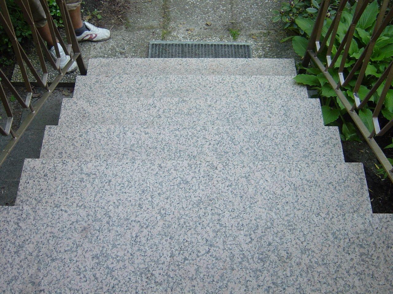 Granit Rutschsicherheit vorher Berlin